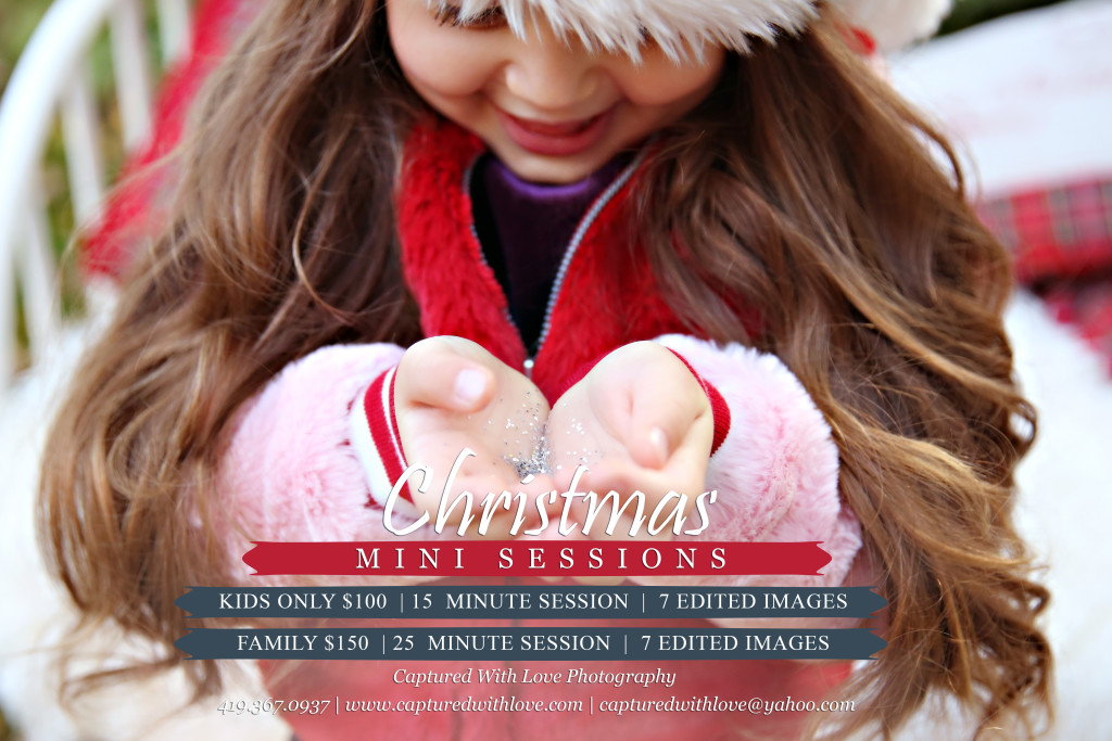 2017 Christmas Mini Session Template